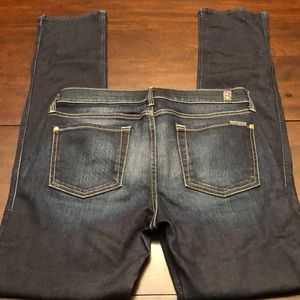 7 For All Mankind modern straight jeans.
